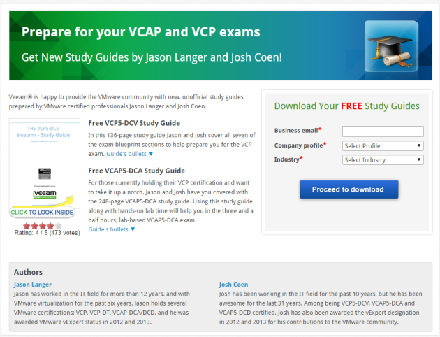 veeamstudy guides